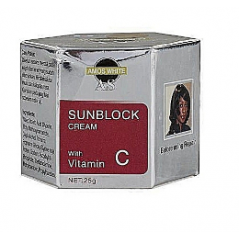 Amos White Sunblock Cream With Vit C
